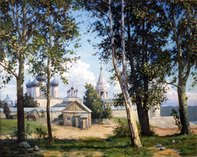 Лето в Макарьеве - Пейзажи ( пейзажная живопись ) фото.